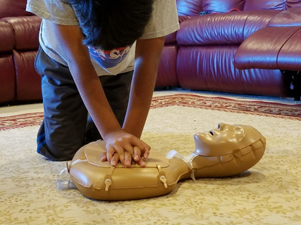 Sixth-grader's science project grows into adult-sized study showing kids can do CPR, too