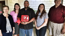HeartSafe City Awards Another AED