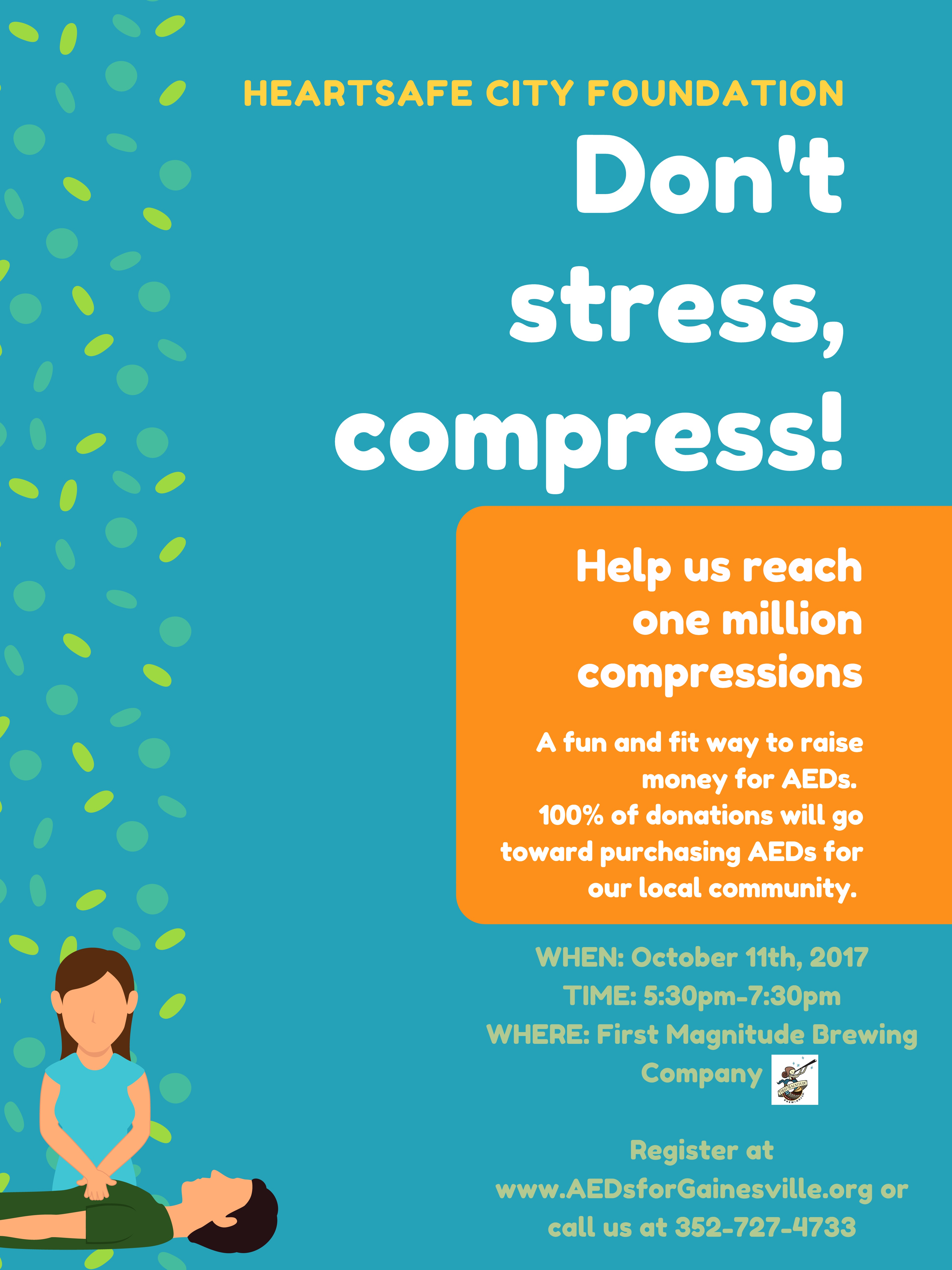 One Million Compressions Event Next Week Cpr Training