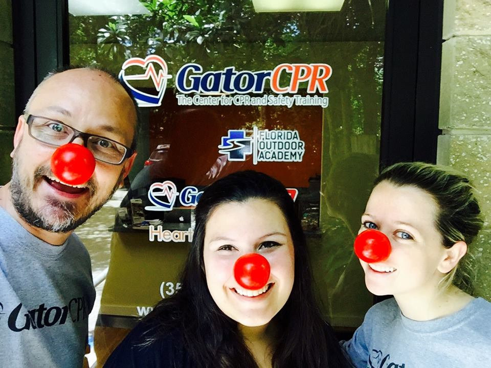 Red Nose Day 2016 Cpr Training Gainesville Ocala Gatorcpr