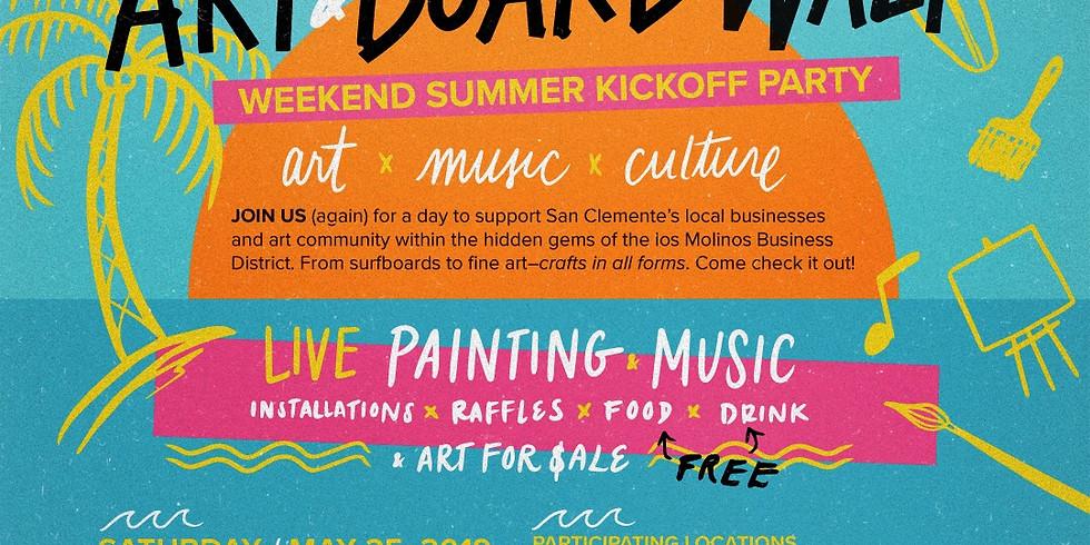 Los Molinos Board & Art Walk