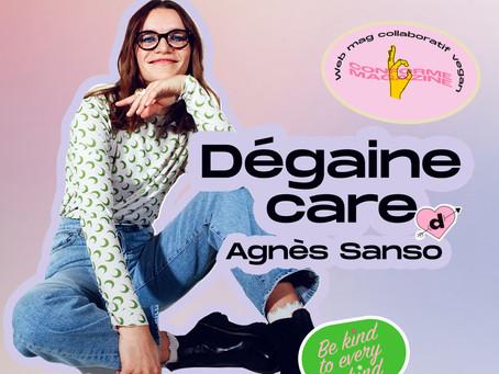 """Agnès Sanso """"La normalité je ne la définie pas, elle est multiple."""""""