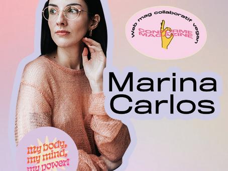 Le livre Je vais m'arranger de Marina Carlos