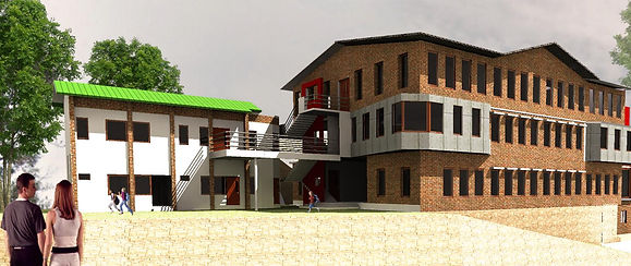 Model of the school