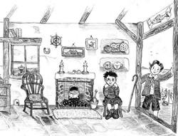 Inside Old Joe's Cottage