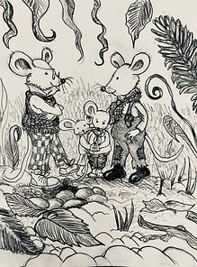 Martin Mouse and his family