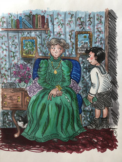 An Errand For Aunt Alice colour vers