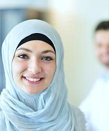 Smiling female doctor