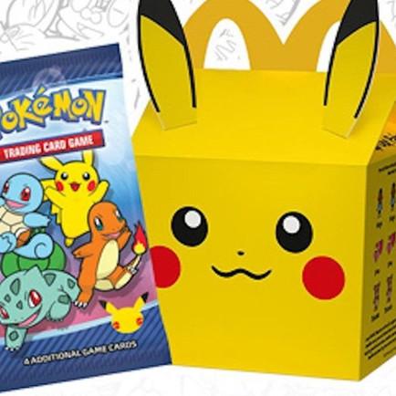 Pikachu sème la panique chez McDonald's