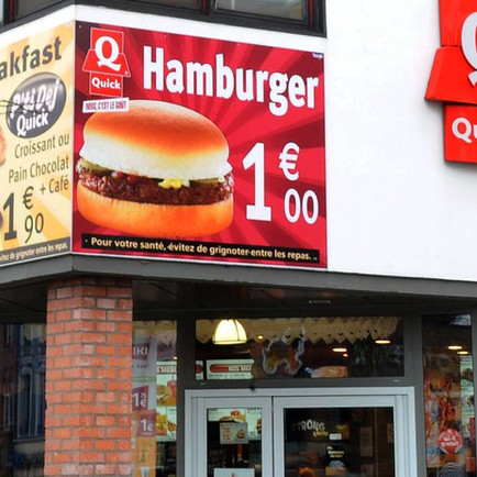 Quick et Burger King c'est fini, l'enseigne se cherche un nouveau mari
