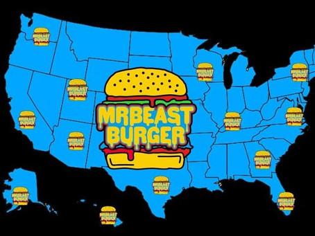 Une célébrité de Youtube lance sa propre chaine de Burger intitulée Mr Beast Burger