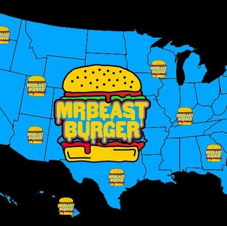 Une célébrité de Youtube lance sa propre chaine de Burger intitulé Mr Beast Burger