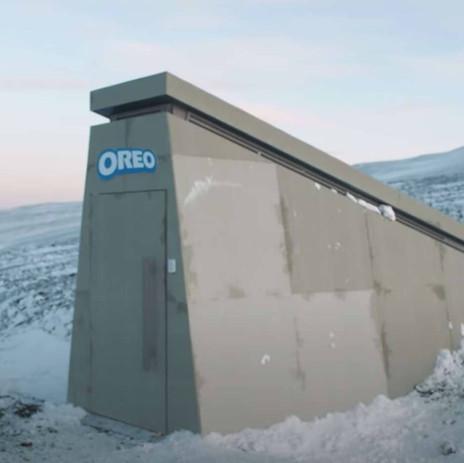 OREO fait construire un bunker en Norvège pour sauvegarder la recette de ses biscuits