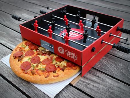 Pizza Hut lance une pizza box pour les fanas de foot