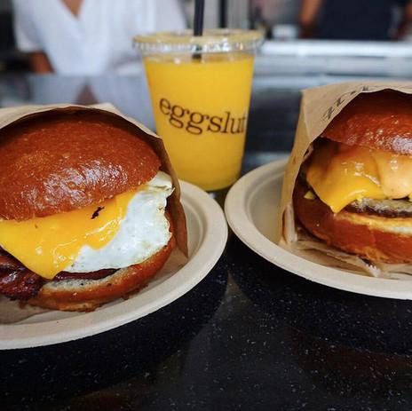 Petit déj' au sommet chez Eggslut: le roi du Breakfast from LA
