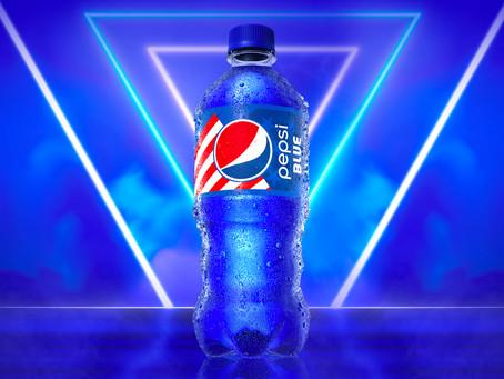 Pepsi se pare de son plus beau Bleu pour aguicher les assoiffés durant l'été