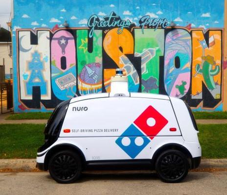 Domino's mobilise une équipe de Robots pour livrer ses Pizzas
