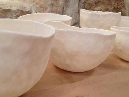 Photophores porcelaine de Chine - Lumiére douce - Patrick Sibille - Décoration unique, design et élégante - ambiance douce et chaleureuse - artisanat