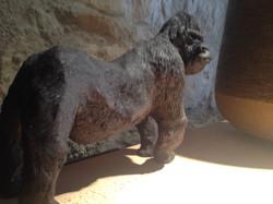 Sculpture gorille