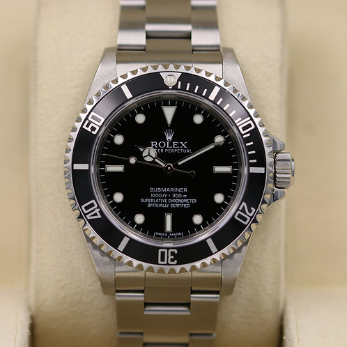 Rolex Submariner No Date 14060M - Random Serial - Box & Papers!