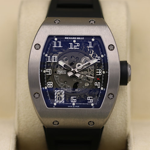 Richard Mille RM010 Titanium - Just Fully Serviced - 2014 Box & Papers