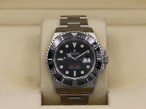 Rolex Sea-Dweller 126600 SD43 Red 50th Anniversary 43mm - 2019 Unworn!