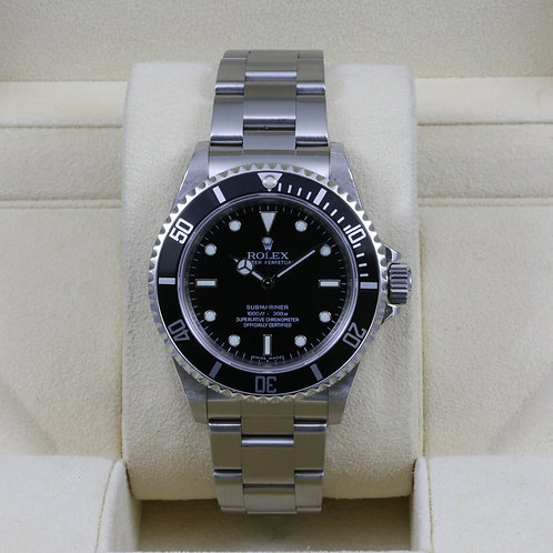 Rolex Submariner No Date 14060M 4 Liner V Serial - Box & Papers