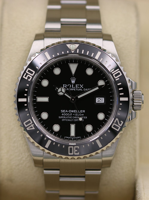 Rolex Sea-Dweller 116600 Ceramic SD4K - Box & Papers