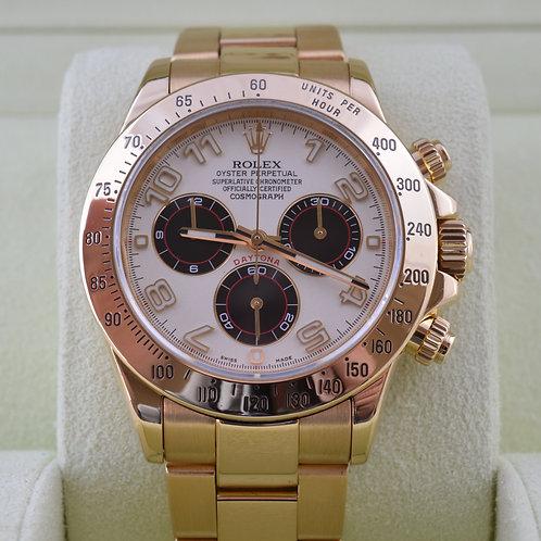 Rolex Daytona 116528 18K Yellow Gold