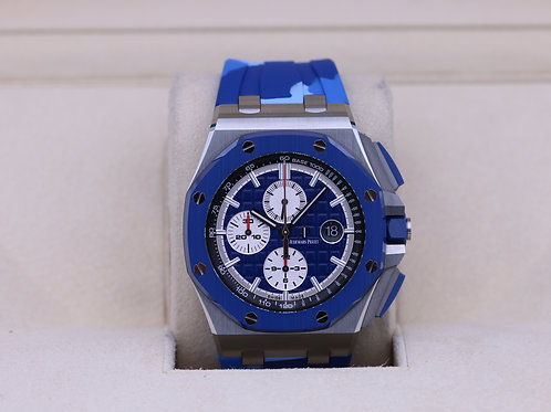 Audemars Piguet Royal Oak Offshore Chrono Blue Camo - 2019 Box & Papers