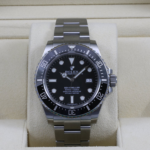 Rolex Sea-Dweller 116600 Ceramic - Discontinued - 2016 Box & Papers