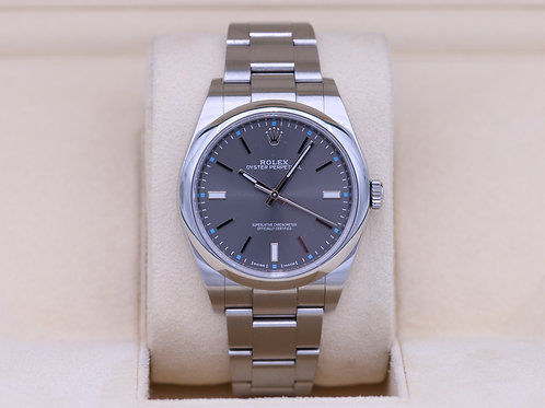 Rolex Oyster Perpetual 114300 Rhodium Dial 39mm - 2019 Box & Papers