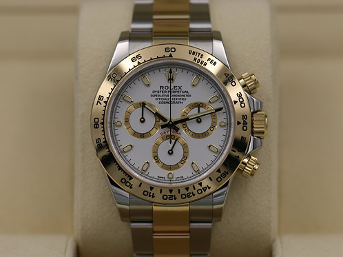 Rolex Daytona 116503 Two-Tone White Dial - 2018 Box & Papers