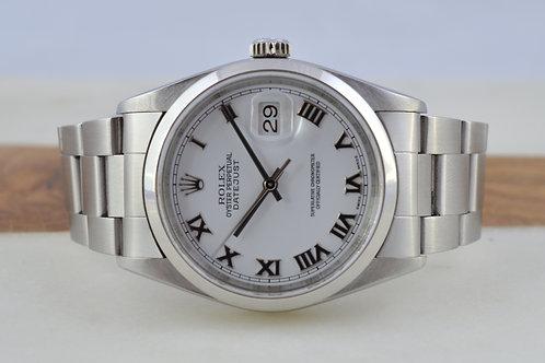 Rolex DateJust 16200 Stainless Steel