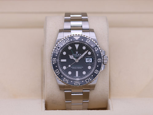 Rolex GMT Master II 116710LN Black - 2018 Box & Papers