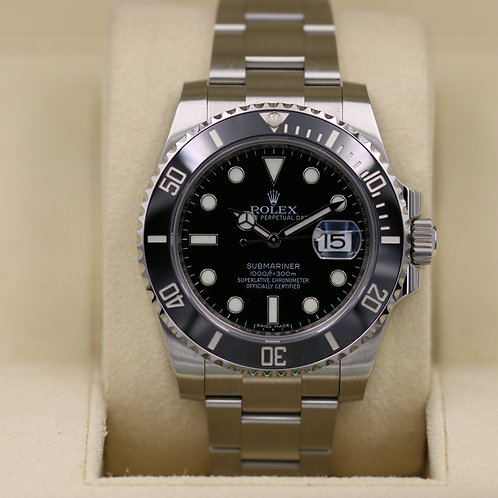 Rolex Submariner Date 116610LN Black Dial - 2017 Box & Papers