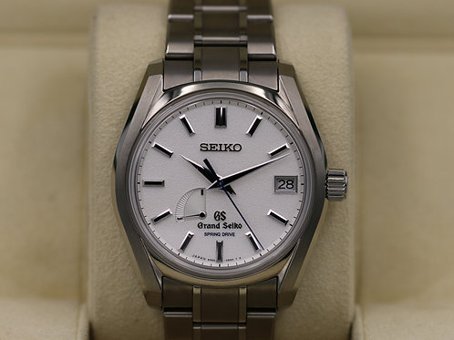 Grand Seiko Spring Drive SBGA125 Limited Edition 1/1000 Blizzard - Box & Papers