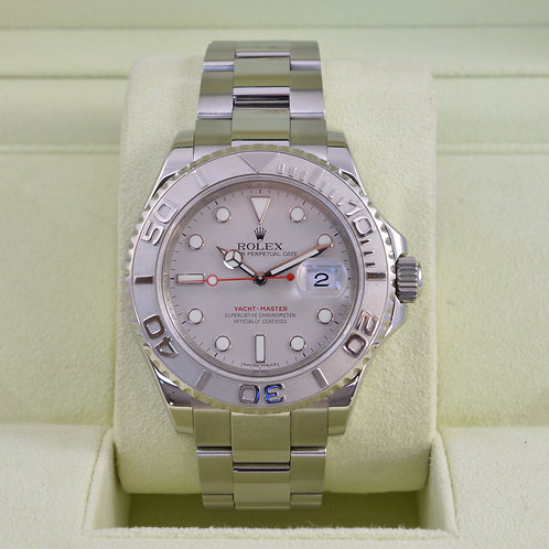 Rolex Yacht-Master 16622 Platinum - G Serial- Box & Papers