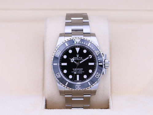 Rolex Submariner No Date 114060 Stainless - Box & Papers 2020