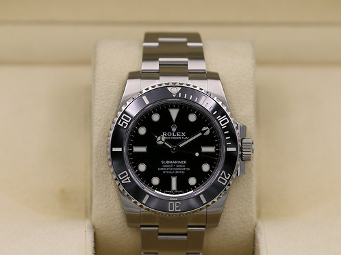 Rolex Submariner No Date 114060 - 2019 Unworn!