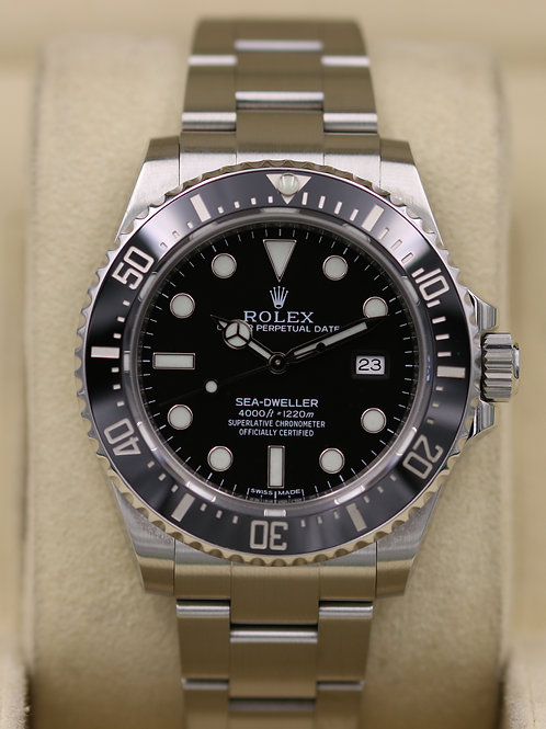 Rolex Sea-Dweller 116600 Ceramic SD4K - Box & Papers