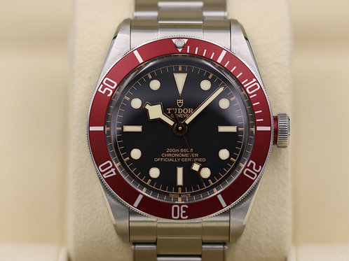 Tudor Heritage Black Bay Red 79230R In-House Movement - 2017 Box & Papers