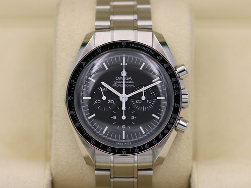 Omega Speedmaster Moonwatch 311.30.42.30.01.005 Hesalite - 2018 Box & Papers!