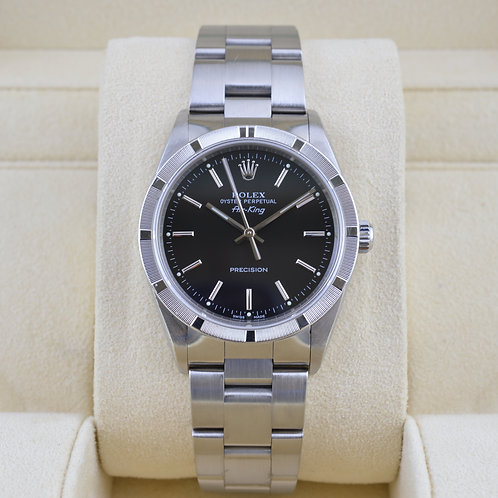 Rolex Air-King 14010M 34mm - Box & Papers
