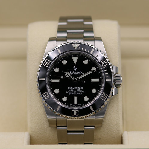 Rolex Submariner No Date 114060 - 2017 Box & Papers!