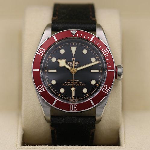 Tudor Black Bay Red 79230R Strap - 2018 Box & Papers