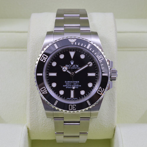 Rolex Submariner No Date 114060 - Box & Papers