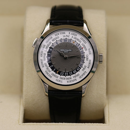 Patek Philippe 5230G World Time White Gold - 2017 Box & Papers