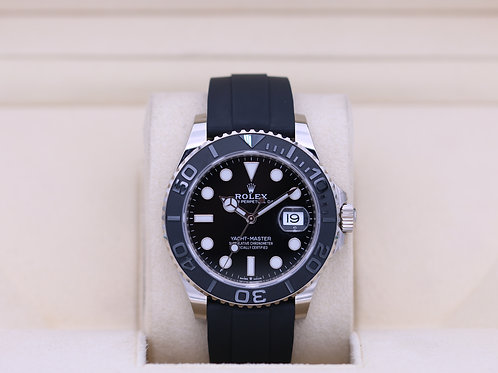 Rolex YachtMaster 226659 42MM White Gold Oysterflex - 2019 Box & Papers