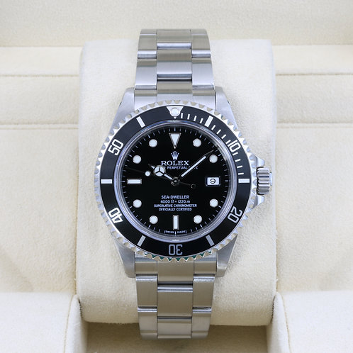 Rolex Sea-Dweller 16600 - F Serial No Holes Case